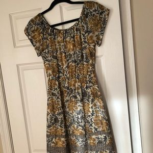 Lucky Brand flower summer dress